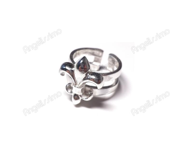 Фаланговое кольцо Флер де Лис от Amorem