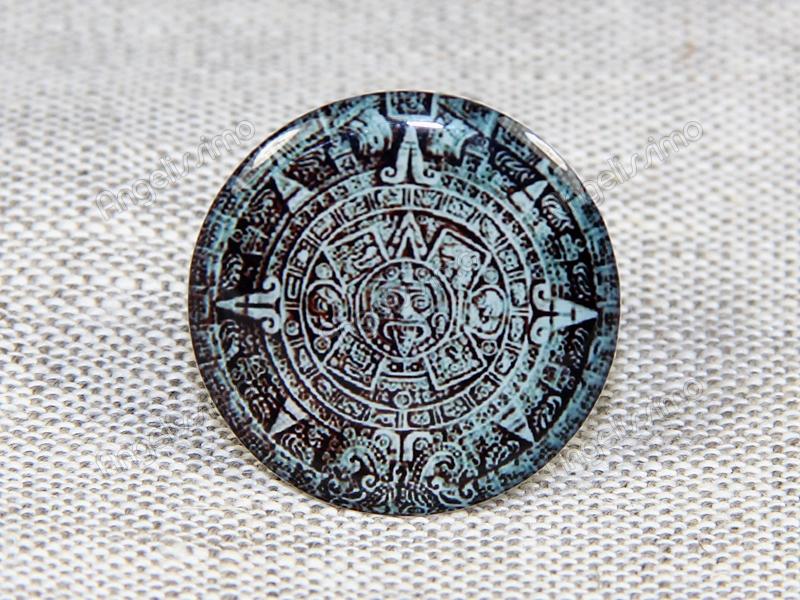 "Кольцо ""Камень ацтеков"" от firMaSoni"